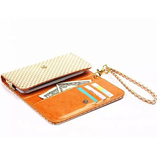 Universal PU Leather Bag Cell Phone Pouch Wallet Card Cover Case for HTC Desire 616 Dual Sim Desire 516 dual sim(China (Mainland))