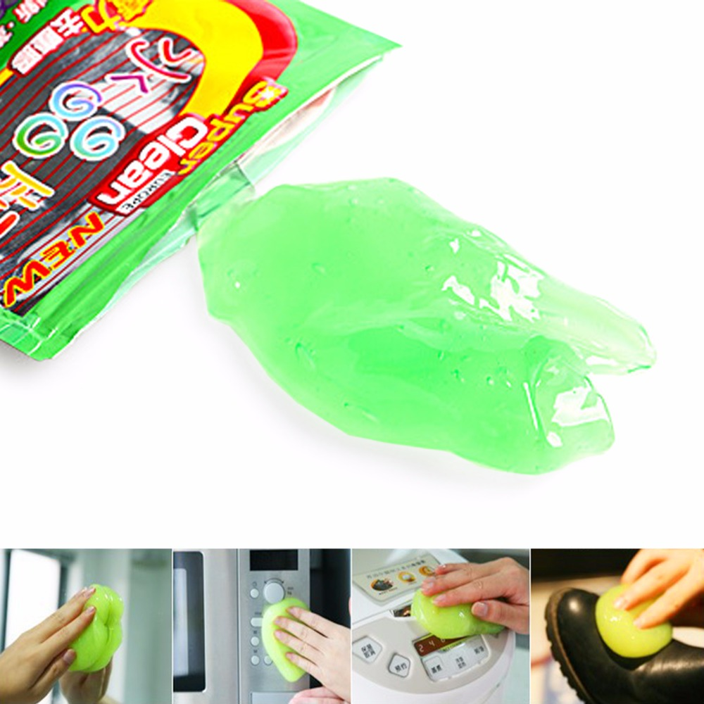 Cleaning the Keyboard 2016 New Magic Computer Cleaners Innovative Super Dust Clean High Tech Keyboard Cleaning Compound Gel 1pcs(China (Mainland))