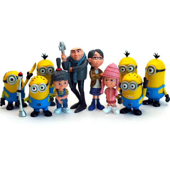2015 New Despicable Me 2 Minions Toys Ornament Christmas Gift Despicable Me doll Minion Decoration Brinquedos(China (Mainland))