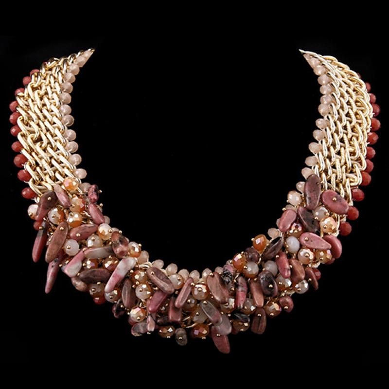 Ruby Set 2014 Fashion Austrian Crystal Pendant Statement Necklace and Earring Set Wedding Jewelry Dubai<br><br>Aliexpress