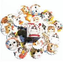 1 قطعة 2018 دفتر مذكرات من ملصقات المفكرة جميل الأميرة القط دفتر ورقة استبدال القرطاسية هدية مجلة المسافر(China)