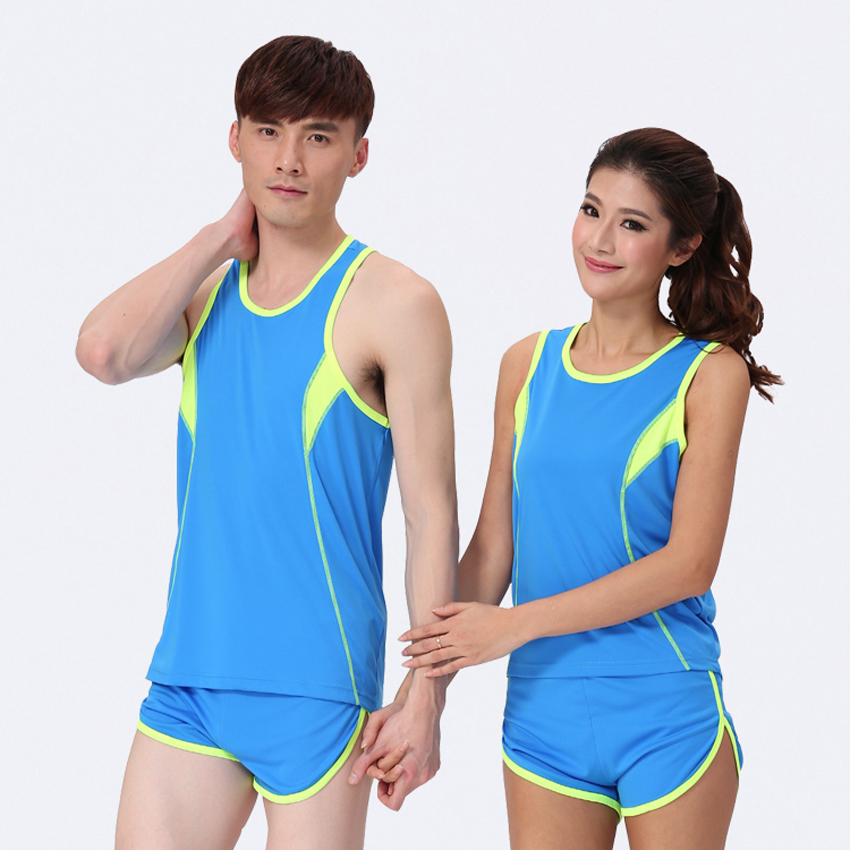 2016 17 New Top Hot Sales Female Lady College Blue White Red Vest,Sportswear,Running Jerseys Shirts,Chemise,Maillot De Course(China (Mainland))