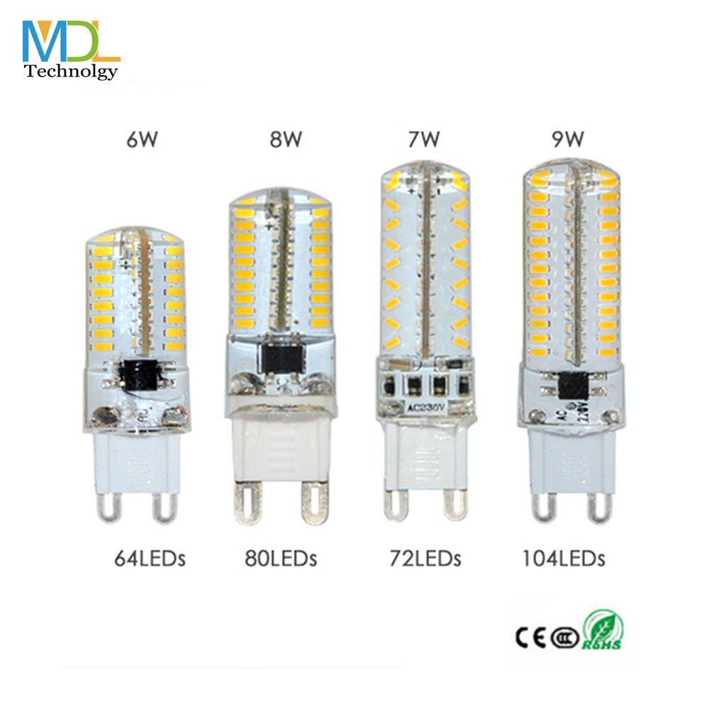 SMD3014 G9 LED bulb cob lamp 6W 7W 8W 9W DC12V AC220V LED Bulb Chandelier Replace 360degree led specialty bulbs Halogen Lamp(China (Mainland))