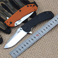 High quality 60HRC D2 blade G10 handle tactical folding knife Ball bearing system hunting camping outdoor