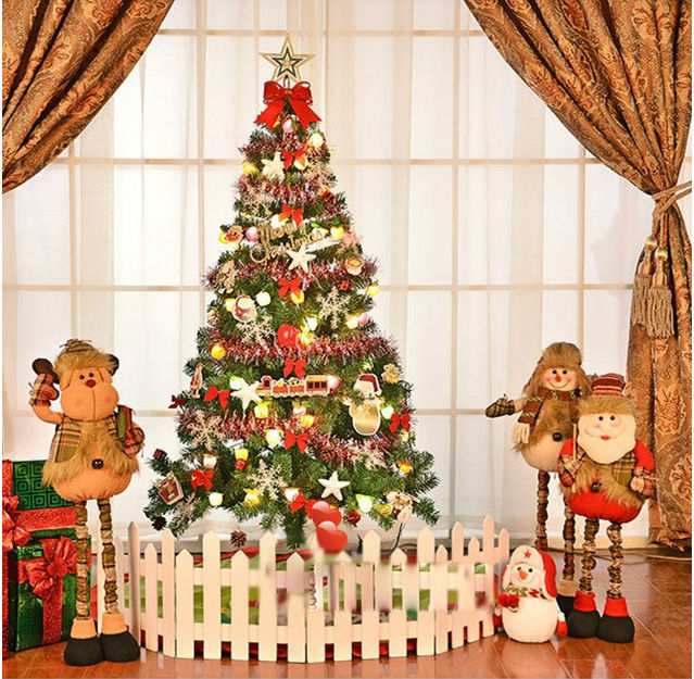 5 Ft Artificial Christmas Tree 1.5m Christmas tree decorated Christmas tree package deluxe hardcover(China (Mainland))