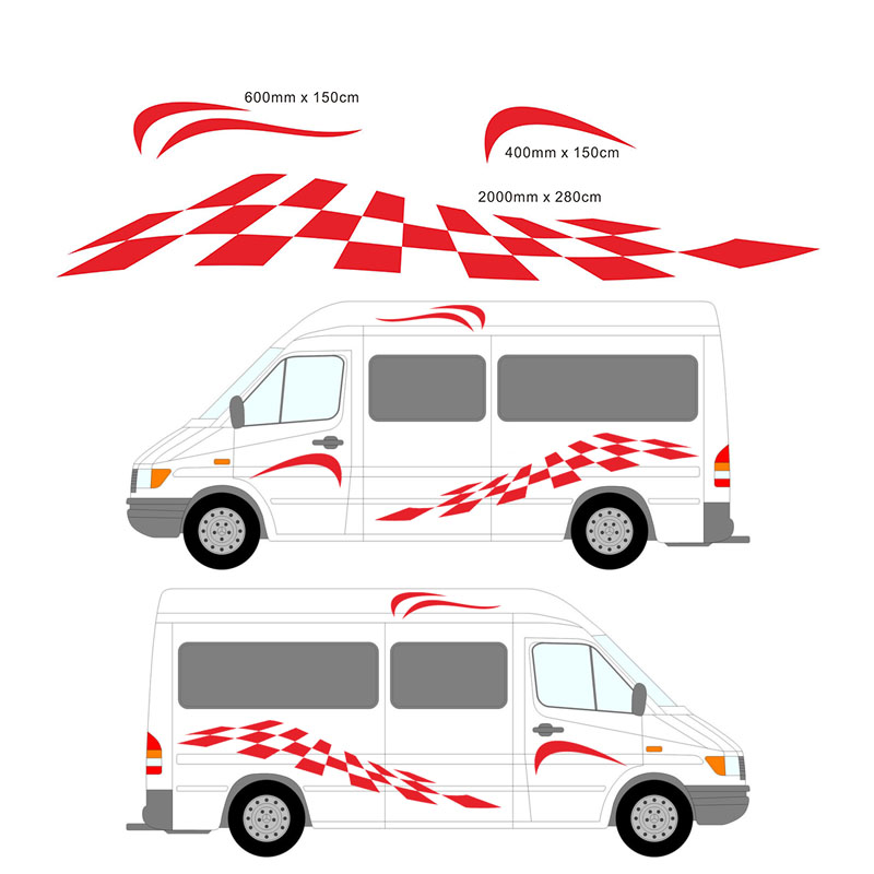 26 elegant motorhome vinyl graphics for Stickers exterieur pour camping car