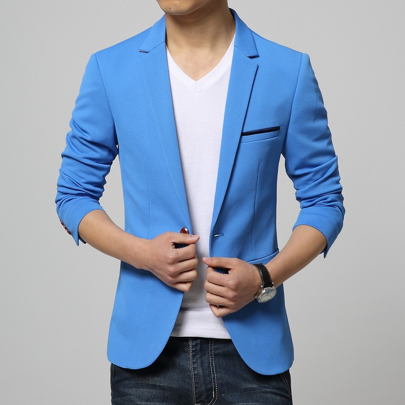 Mens Casual Blazer Jackets Photo Album - Reikian