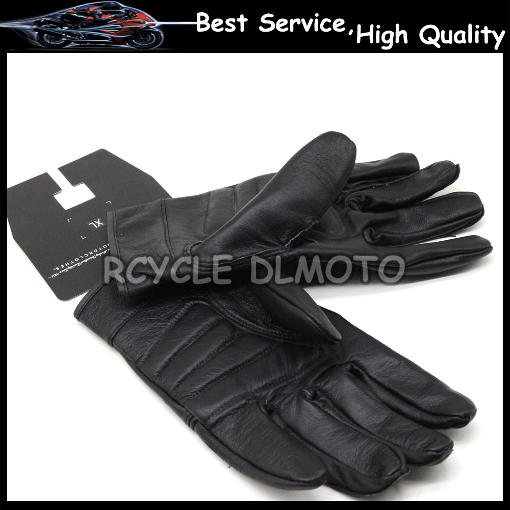 Motorcycle gloves review 2016 - 2016 Hot Sale For Harley Motorcyclists Leather Gloves Long Section Of Men S Leather Motorcycle Gloves Flame Gloves