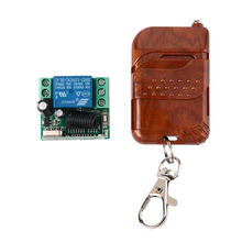 1pc DC 12v 10A relay 1CH wireless RF Remote Control Switch Transmitter+ Receiver(China (Mainland))