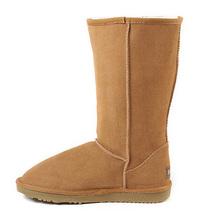 Mujeres Botas Clásicas Australia Botas de Nieve de Cuero Genuino Original de la Marca de Moda de Alta Calidad Zapatos de Mujer Botas de Invierno Cálido(China (Mainland))
