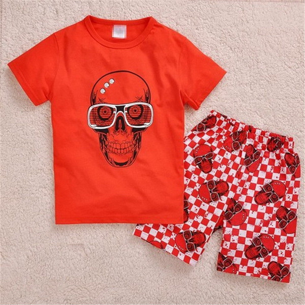 Online Get Cheap Skull Pajamas Kids -Aliexpress.com | Alibaba Group