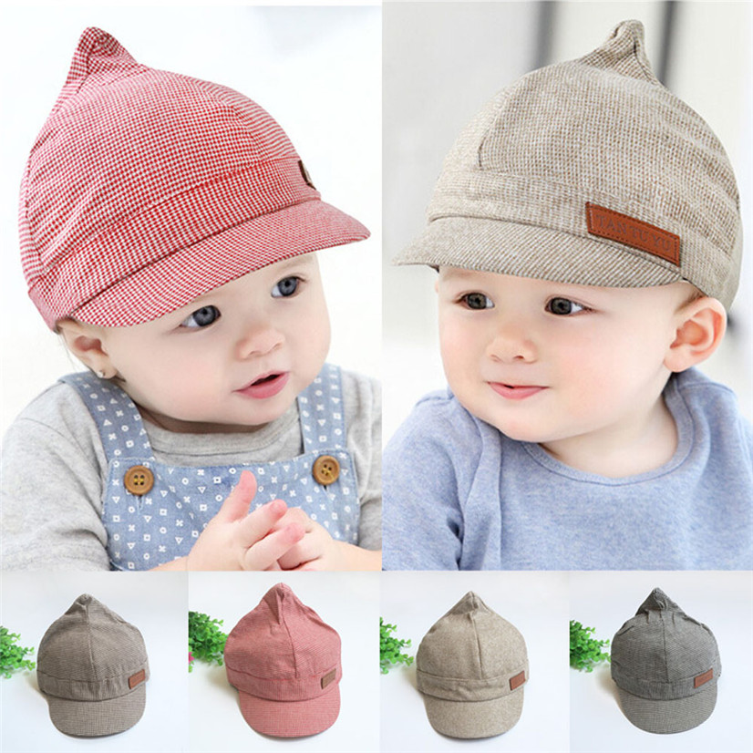 Delicate snapback cap hat kids Unisex retro 2016 Baby Toddler Kids Boy Girl Children's Peaked Cap nor160830 wholesale(China (Mainland))