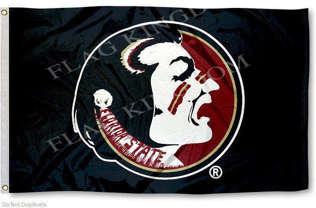 Florida State Seminoles Black Banner Flag(China (Mainland))