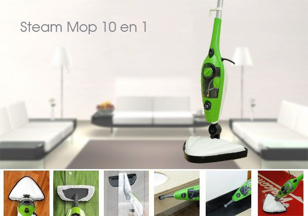 Unique design 10 in 1 multiple function Steam Mop X10/Steam Cleaner/steam generator as seen on TV(China (Mainland))