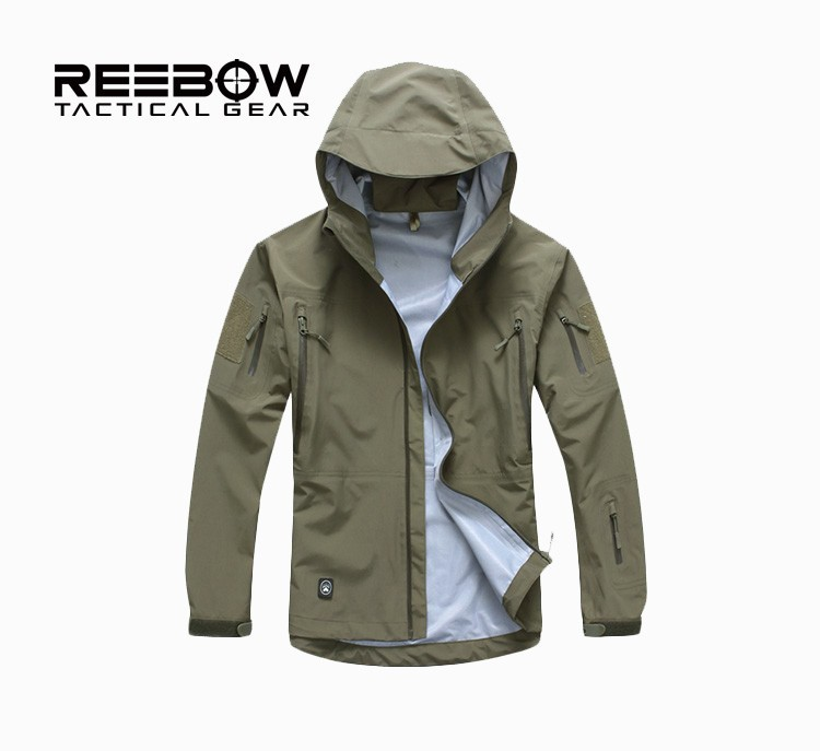 Гаджет  Outdoor Camping Jacket Men Hardshell Tactical Military Hunting Clothes Waterproof Hiking Jacket Mountaineering large size jacket None Спорт и развлечения