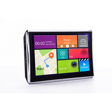 7 inch HD 1080P Truck Car GPS Navigation Android 4 4 Wi Fi Free Upgrade 8GB