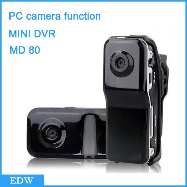 MD80+Bracket+Clip Mini Canrea cams 8GB 16GB Memory card DVR Sports Video Camera Mini DVR Camera & hidden with camera Dropship(China (Mainland))