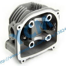 EUI GY6-150cc Cylinder Head Assembly Diameter 57.4mm with Valves for Chinese Scooter Moped Installed Valves Free Shipping