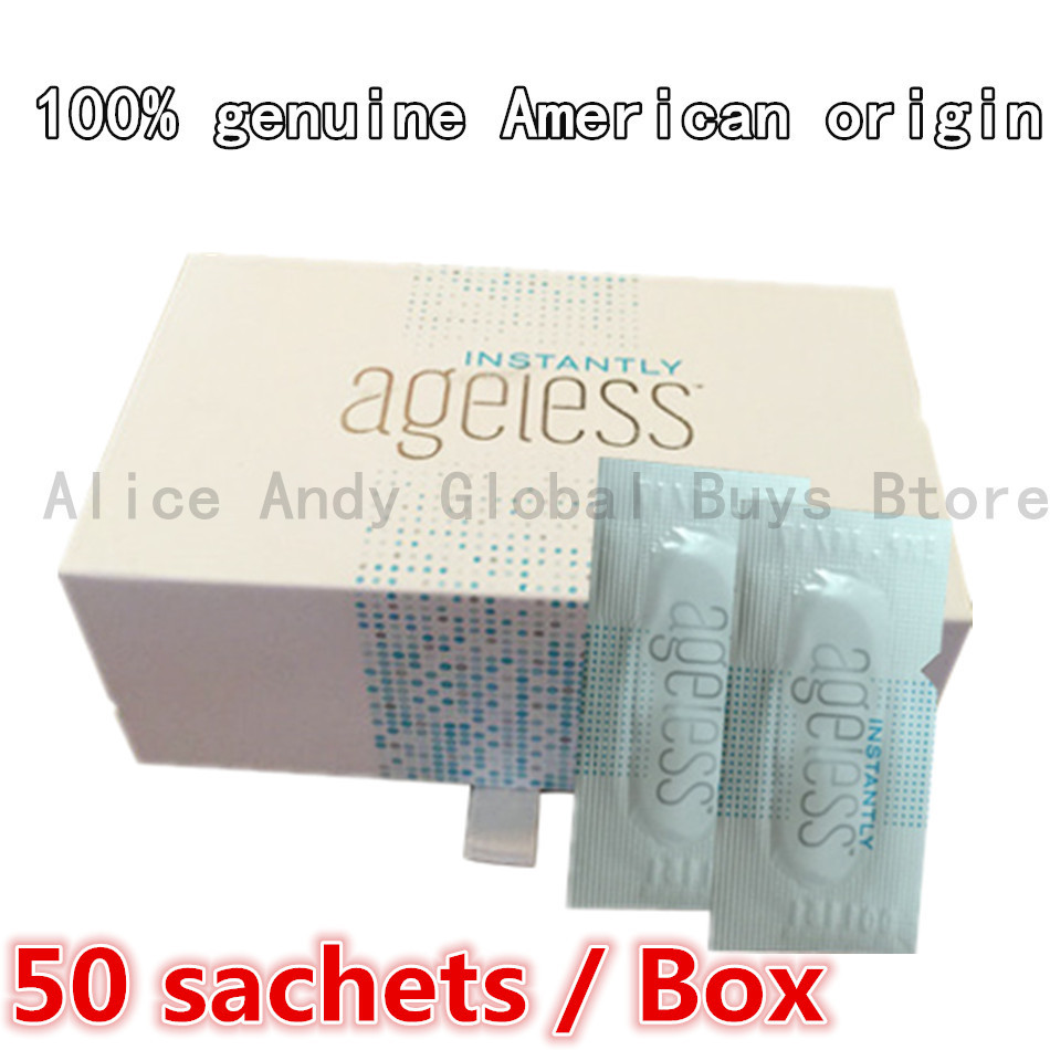 US origin 50 Sachets/Box jeunesse instantly ageless products instant face lift serum Anti-Puffiness anti aging argireline cream(China (Mainland))