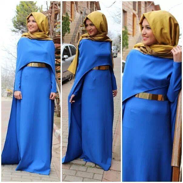 Robe d'hiver 2016 hijab