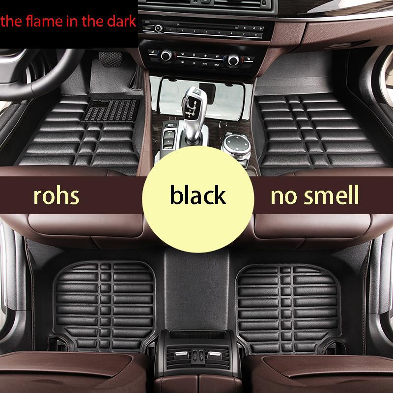 fit for bmw 3 series 2004-2012 e90 320i 325i 318i  fiber leather car floor mat carpet rug 3 pcs one set EU approval<br><br>Aliexpress