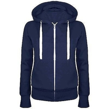 5 Colors Unisex Plain Zip Up Hooded Zipper Hoodies Sweatshirt Ladies Women Men Coat Top #81745(China (Mainland))