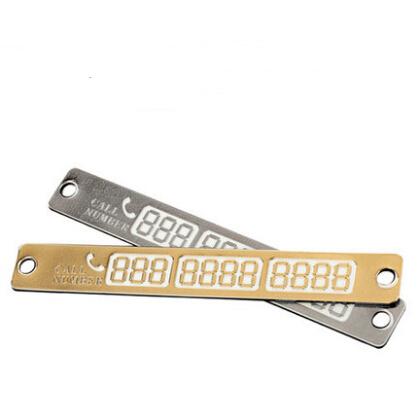 Luminous Temporary Parking Card For Lexus ES250 RX350 330 ES240 GS460 CT200H CT DS LX LS IS ES RX GS GX-Series(China (Mainland))