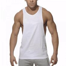Buy New Brand Fitness Singlet Cotton Sleeveless Muscle Vest Bodybuilding Men Tank Top Wear Vest Stringer Undershirt W5 for $5.08 in AliExpress store