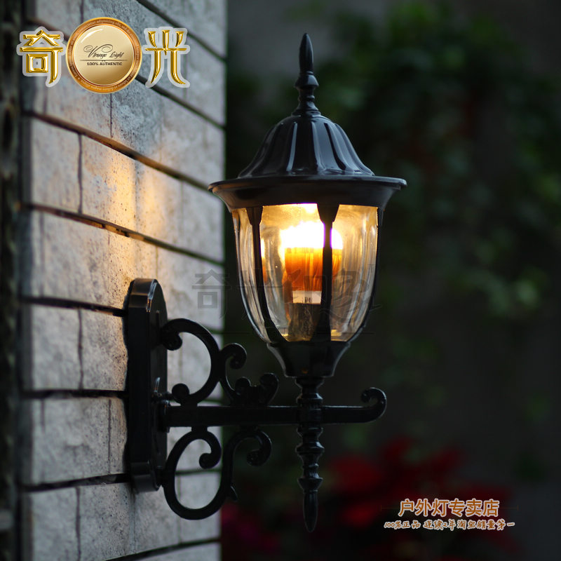 Antique style outdoor wall lights trweb for outdoor wall mounted balcony wall lamp fashion europe style waterproof vintage wall lights aloadofball Choice Image