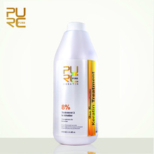 PURC Brazilian keratin hair treatment formalin 8% 1000ml hot sale pure keratin straightening for hair free shipping 11.11(China (Mainland))