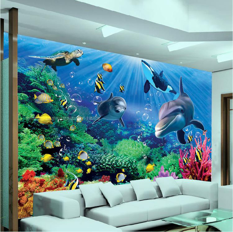 hohe qualit 228 t gro 223 handel underwater wall mural aus china