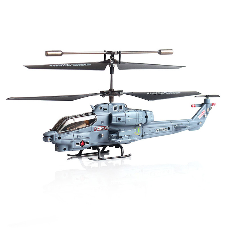 Mini Remote Control helicopter SYMA S108G RTF 33CH RC Marines Cobra Attack Pattern Helicopter Model RC Military Heli(China (Mainland))