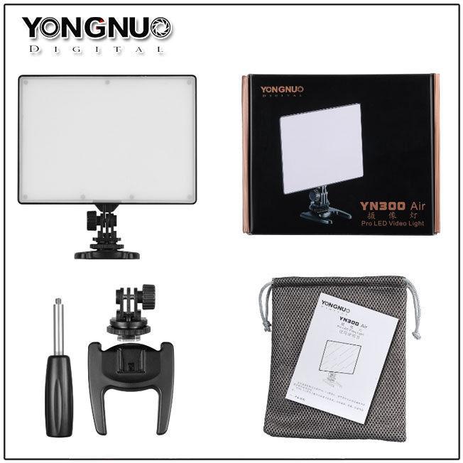 YONGNUO YN300 YN-300 Air YN 300 PRO LED Camera Video Light 3200K-5500K for Canon Nikon Pentax Olympas <font><b>Samsung</b></font> <font><b>DSLR</b></font> & Camcorder