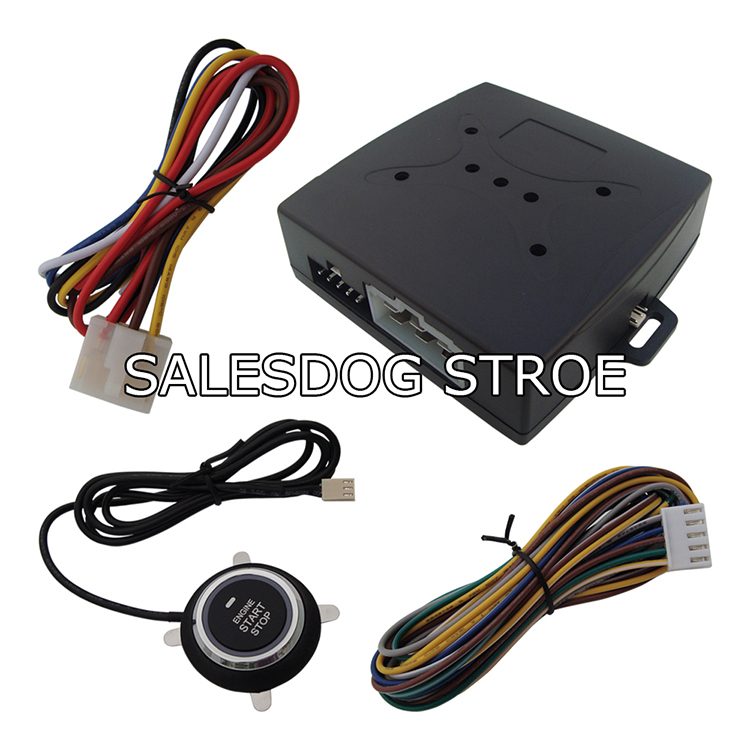 Stock In USA Smart Remote Start Car Engine Start Stop Button 10 Minutes Countdown Stop Car Fast Shipping In 24 Hours!(China (Mainland))