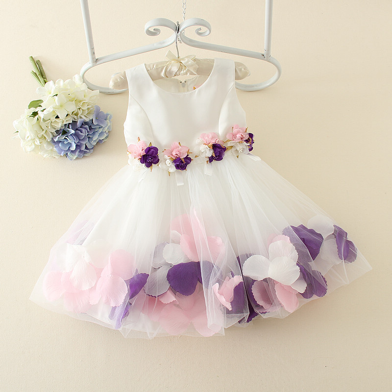 2016 Hot Sale New Arrival Half Elsa Dress Korean Wedding Dress Casual S For Girls. Even Small Children Wholesale Agency(China (Mainland))