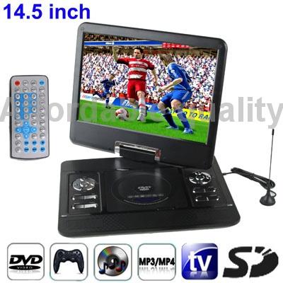 DVD, VCD - проигрыватели 14.5 TFT /dvd USB , джой dvd