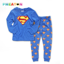Cartoon Boys Clothes Long Sleeve T Shirt Long Pants 2pcs Set Toddler Boys Clothing Cotton Girls Clothing Sets(China (Mainland))