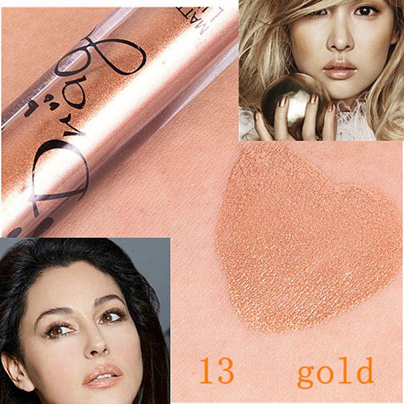 Wholesale Lip gloss 2016 New Matte Liquid Lipstick Dupe to Lipglosses Celebrity Liquid Lipstick Lip Gloss for 16 colors