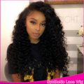 2016 Kinky Curly Synthetic Heat Resistant Hot Glueless Top Quality Synthetic Lace Front Wig Fiber Hair
