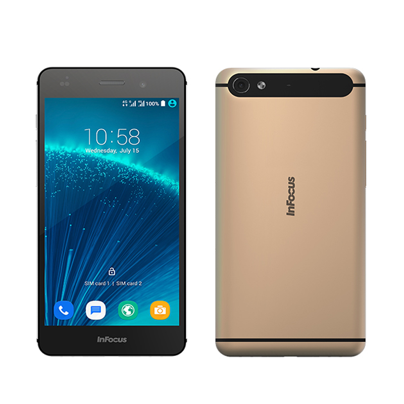 "Original Infocus M560/M808 MTK6753 1.3GHz Octa Core 5.2"" IPS FHD Screen 1920*1080 2G/16G 13MP Android 5.1 4G LTE Smartphone"