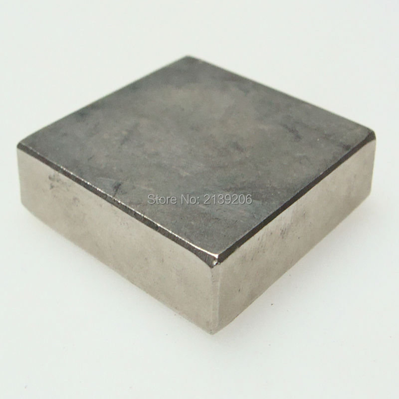 2PCS 40*40*20MM pull force 50KG extremely strong power sintered neodymium ndfeb permanent rare earth magnet fasterners(China (Mainland))
