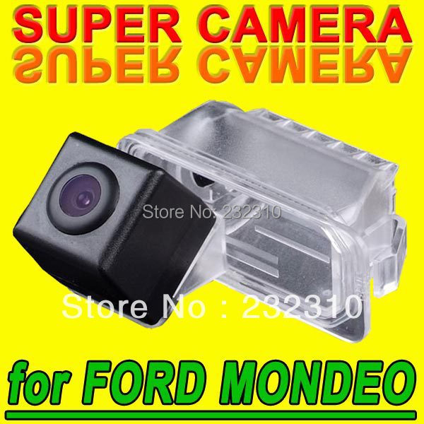 Hot car rear view back up parking camera for Ford 2 Carriage Fiesta S-Max Kuga Mondeo Focus ll Facellft waterproof for GPS Radio(China (Mainland))