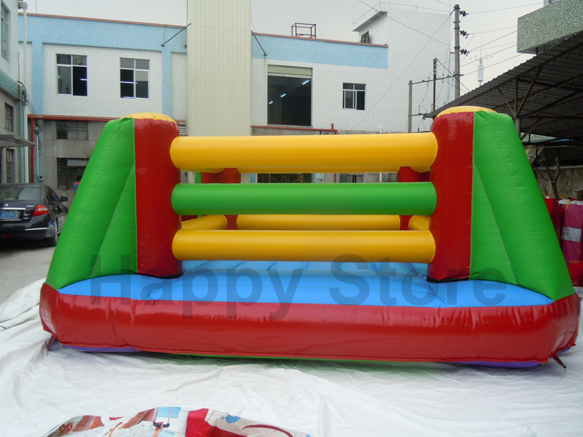Hot inflatable boxing ring inflatable bouncer castle inflatable moonwalk inflatable jumping castle for Adult(China (Mainland))
