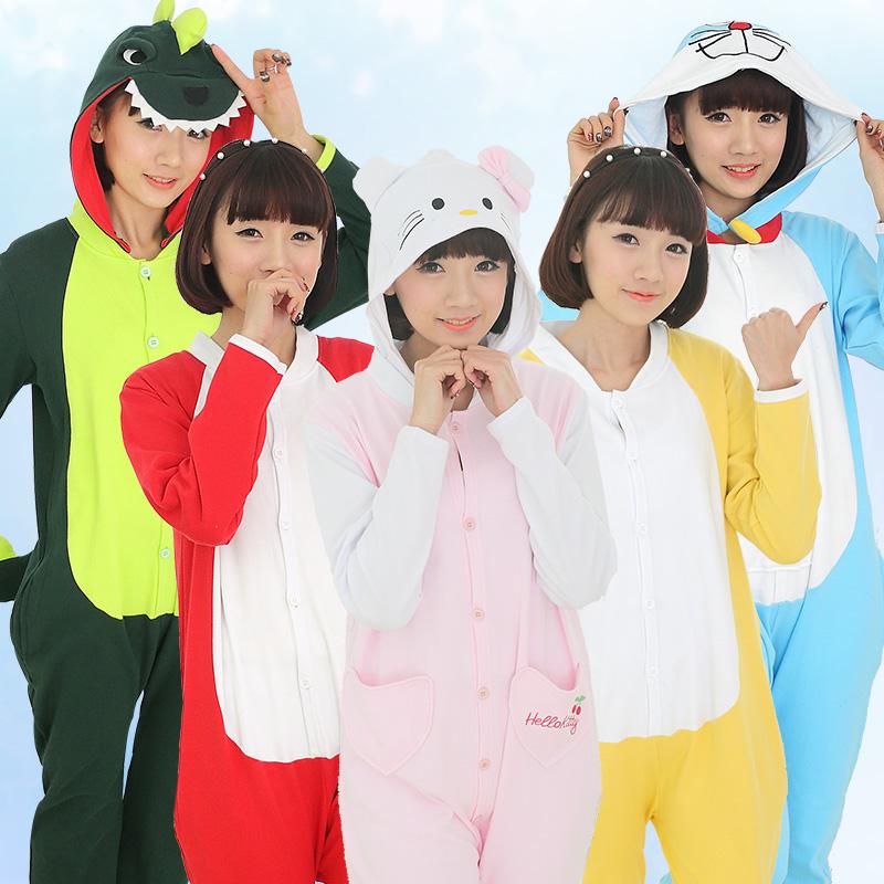 Cat Unisex Adult Anime Costumes Home Wear Kigurumi Pajamas Cosplay
