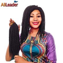 "Biggest Discount 12"" 22Root/Pack Crochet Twist Hair 80G/Pack Box Braids Hair #1B Natural Havana Twist Crochet Hair Extensions(China (Mainland))"