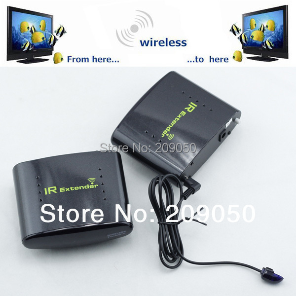 PAT-433 Wireless IR Remote Extender Infrared Repeater Transmitter Receiver Set for DVR IPTV Satellite STB Digital TV STB(China (Mainland))