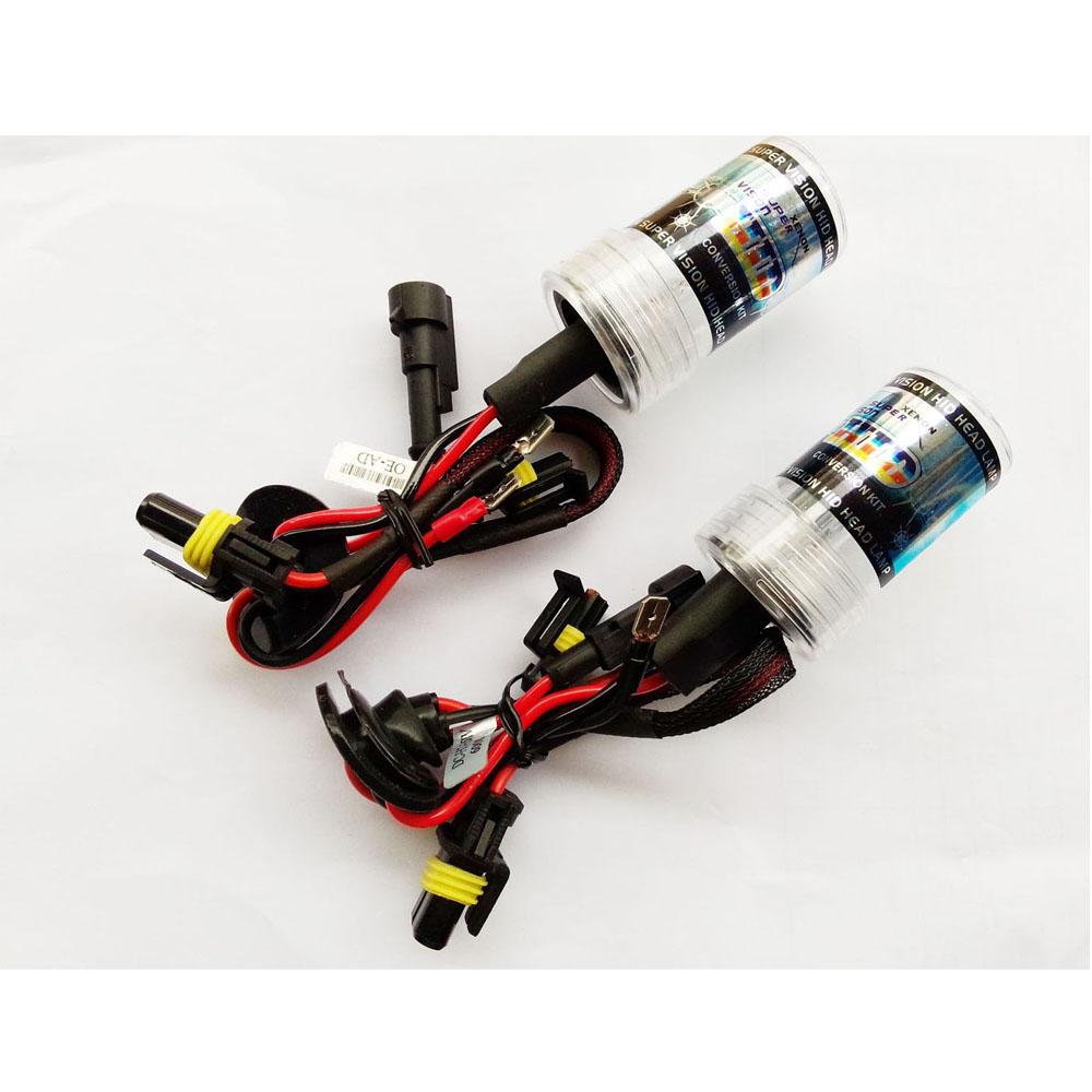 2PCS Xenon HID bulbs car headlight AC 35W Lamp H1 H3 H4 H7 H8/H9 H27/880/881 9005/HB3 9006/HB4 3000k 4300K 5000K 6000K 8000K...(China (Mainland))