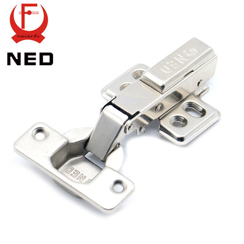 NED Hinge Rustless Iron Hydraulic Hinge Iron Core Damper Buffer Cabinet Cupboard Door Hinges Soft Close Furniture Hardware(China (Mainland))