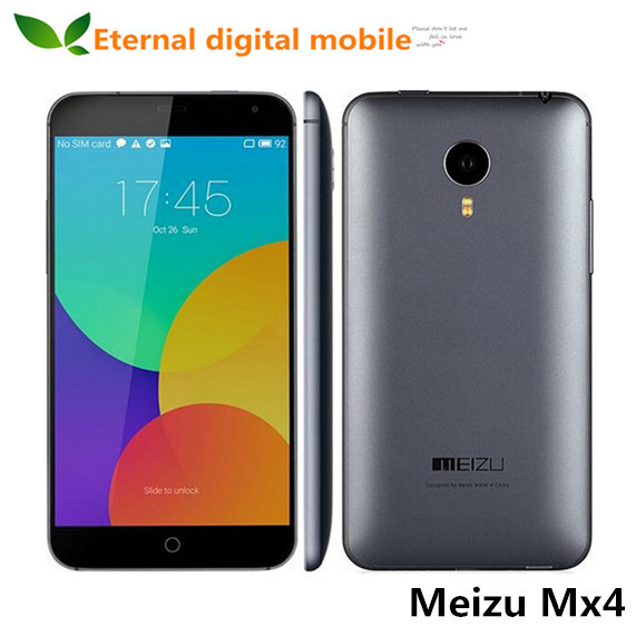 In Stock Meizu MX4 4G FDD LTE Android 4.4 MTK6595 Octa Core 5.36'' 1920x1152 20.7M 32G ROM Flyme4 Mobile phone(China (Mainland))