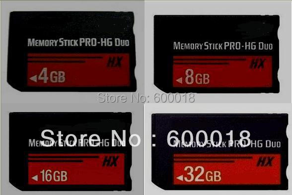 h2testw test real Capacity MS HG 4GB 8GB16GB 32GB 64GB Memory Stick Pro Duo Memory Cards